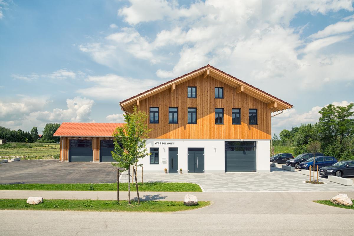 Haus f r wasser musik marquartstein intec architektur for Haus architektur